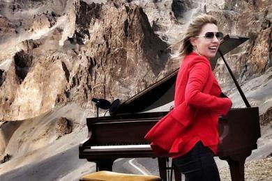最高海拔的演唱会开唱,这名励志古典音乐家你了解吗?