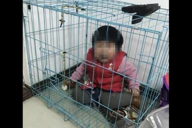 女童被关笼中疑遭虐待,潮州警方做出回应
