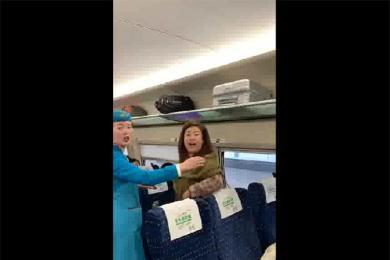 高铁骂人女乘客被抓,曾有黑历史