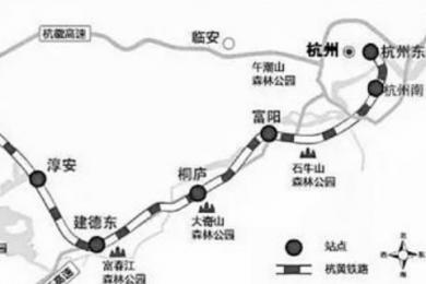杭黄铁路铺轨贯通,预计今年年底全线运营