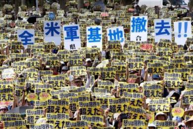 冲绳县诉讼遭驳回,欲叫停美军基地停止施工