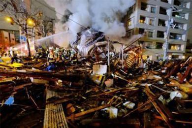 日本一餐馆爆炸,引建筑火灾事故性质严重